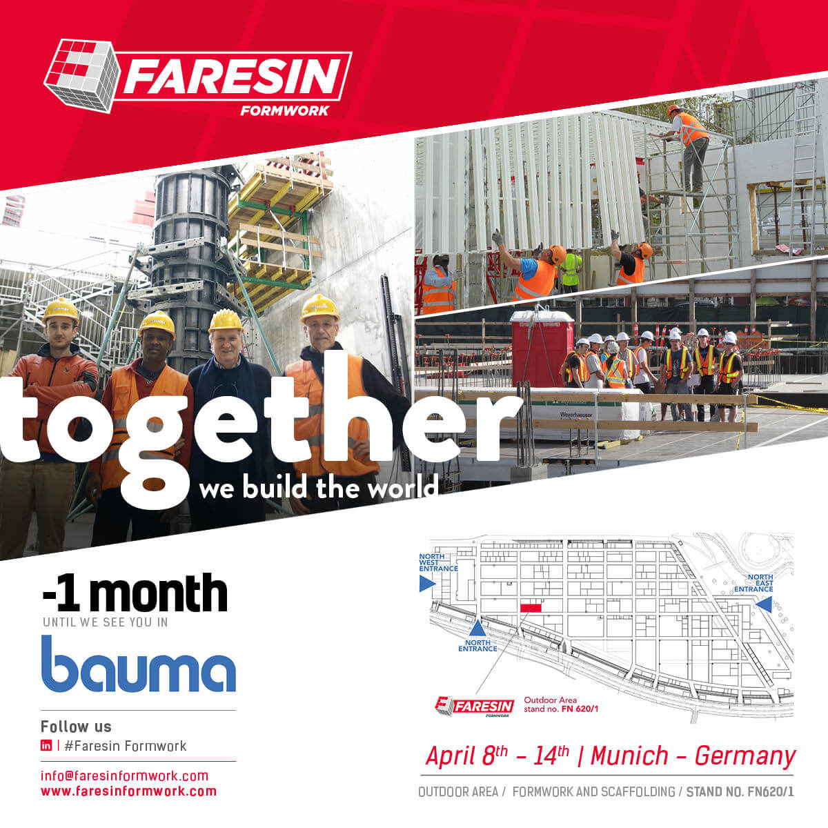 Formwork Systems for Building and Metal Formwork Faresin